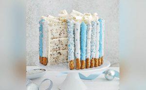 Candied Pretzel Cake