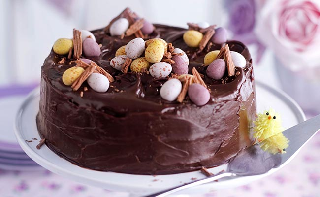 Eggs Stuck In Chocolate
