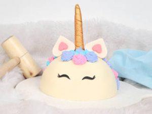unocorn pinata cake