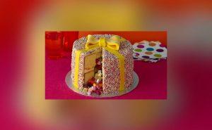 Hidden Sweetie Surprise Cake