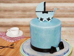 Baby Cradle Cake