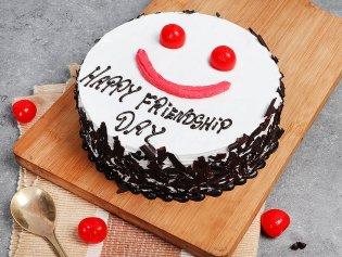 Friends Forever Gateau - A Friendship Day Cake